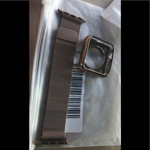 Apple watch band and case
